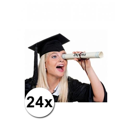 24 Luxe afstudeer/ geslaagd hoedjes